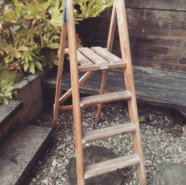 vintage ladder prop hire fife perthshire edinburgh