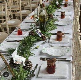 woodland wedding fife props
