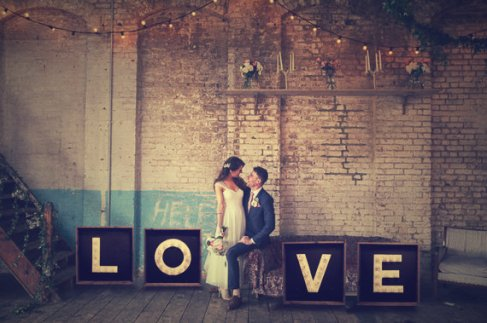 wedding love letter hire warehouse scotland