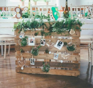 village hall wedding prop hire scotland