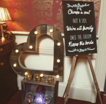 tayside wedding prop hire scotland