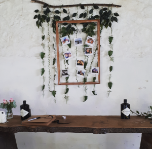 cowshed crail barn wedding styling hire fife