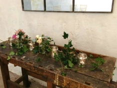 boho wedding prop hire fife
