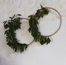 Wedding boho florist hoop hire dundee