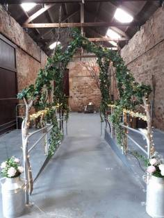 kinkell byre wedding prop hire stylist