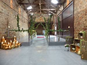 kinkell barn wedding stylist scotland