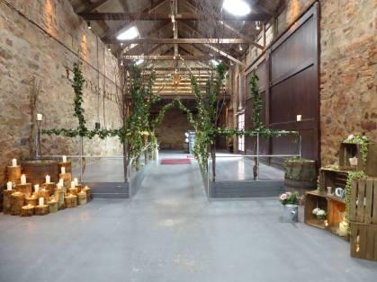 kinkell barn wedding stylist scotland