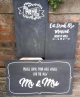 chalkboard art perthshire
