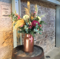 barn wedding styling props perthshire