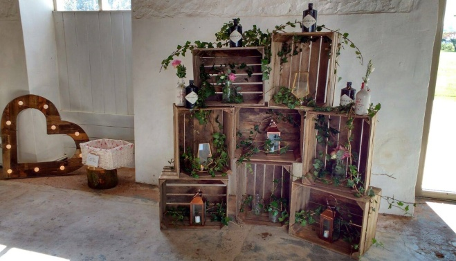 barn wedding decoration fife scotland