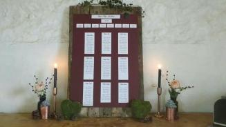 barn wedding styling fife scotland