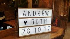 barn wedding lighting hire fife scotland