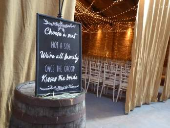 wedding chalkboard design fife perthshire