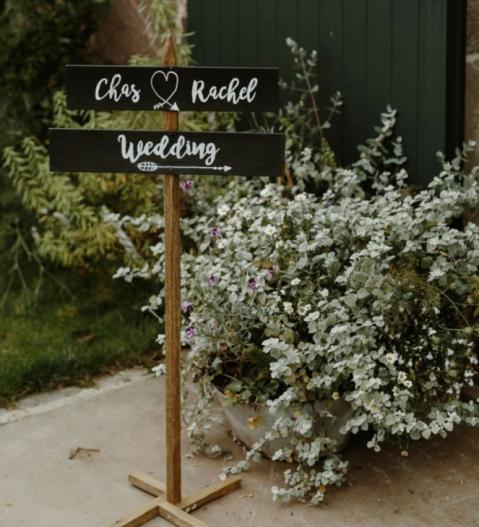 wedding chalkboards scotland