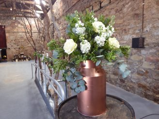 Kinkell_byre_copper_churn_wedding_prop