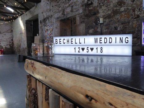 wedding light hire perthshire fife scotland