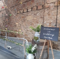 Kinkell_byre_wedding_chalkboard_welcome