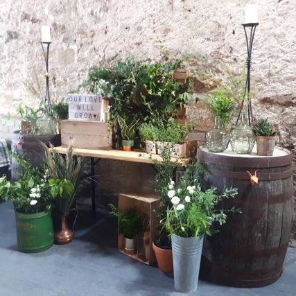 Kinkell_byre_wedding_foliage_installation