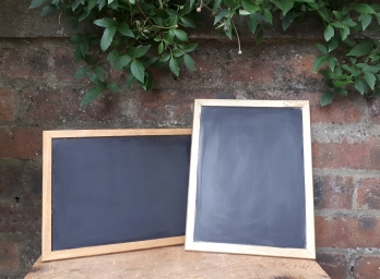 chalkboard writing hure wedding scotland