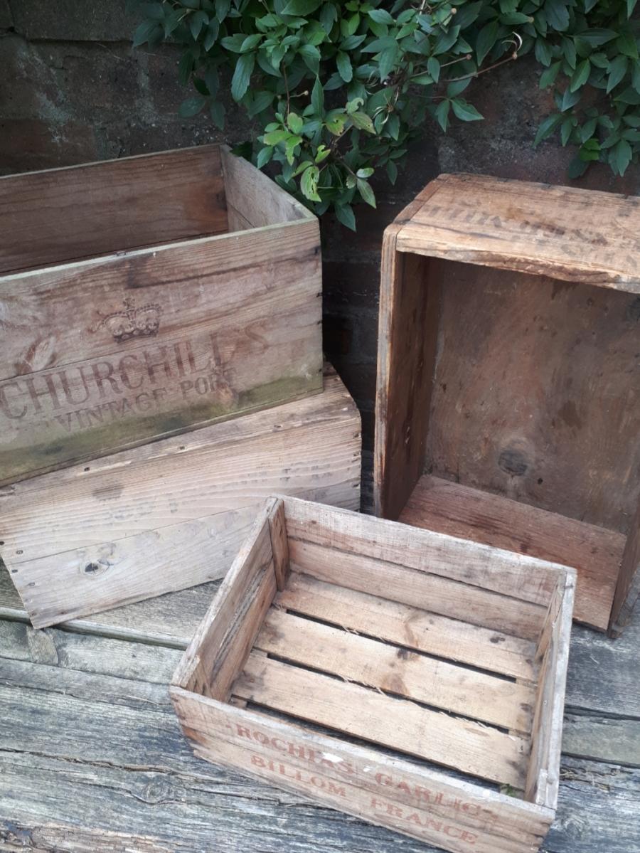 crates for wedding decor scotland