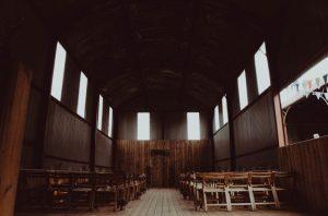 Scotland barn wedding prop style