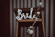 Scottish barn wedding prop hire