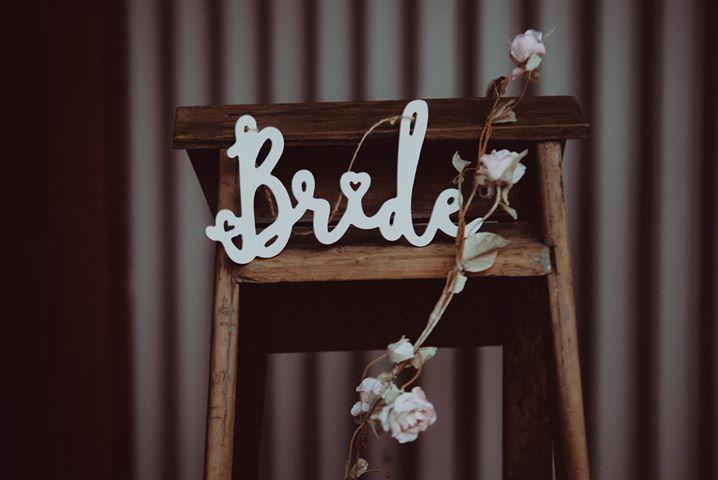 Scottish barn wedding prop hire