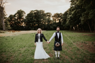 Euan and Kelsey Myres Castle