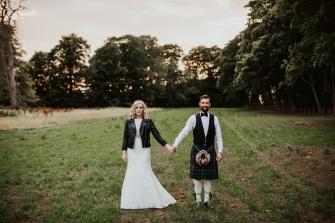 Euan and Kelsey Myres Castle