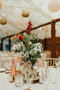 Myres Castle wedding decor hire