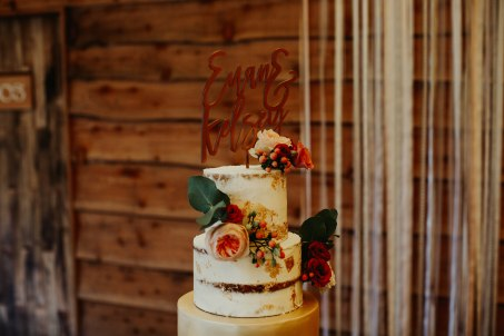 Myres Castle Kelsey wedding cake
