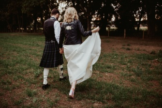 Euan and Kelsey at Myres Castle
