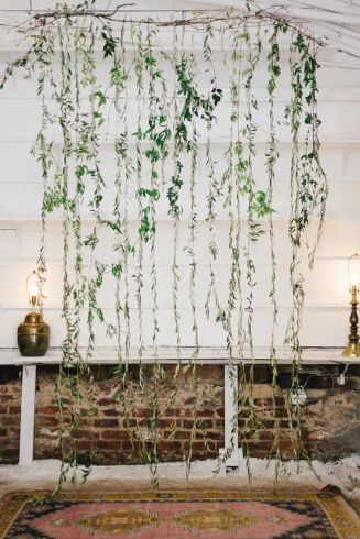 Foliage wedding backdrop hire scotland