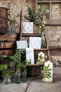 Rustic foliage decor hire scotland