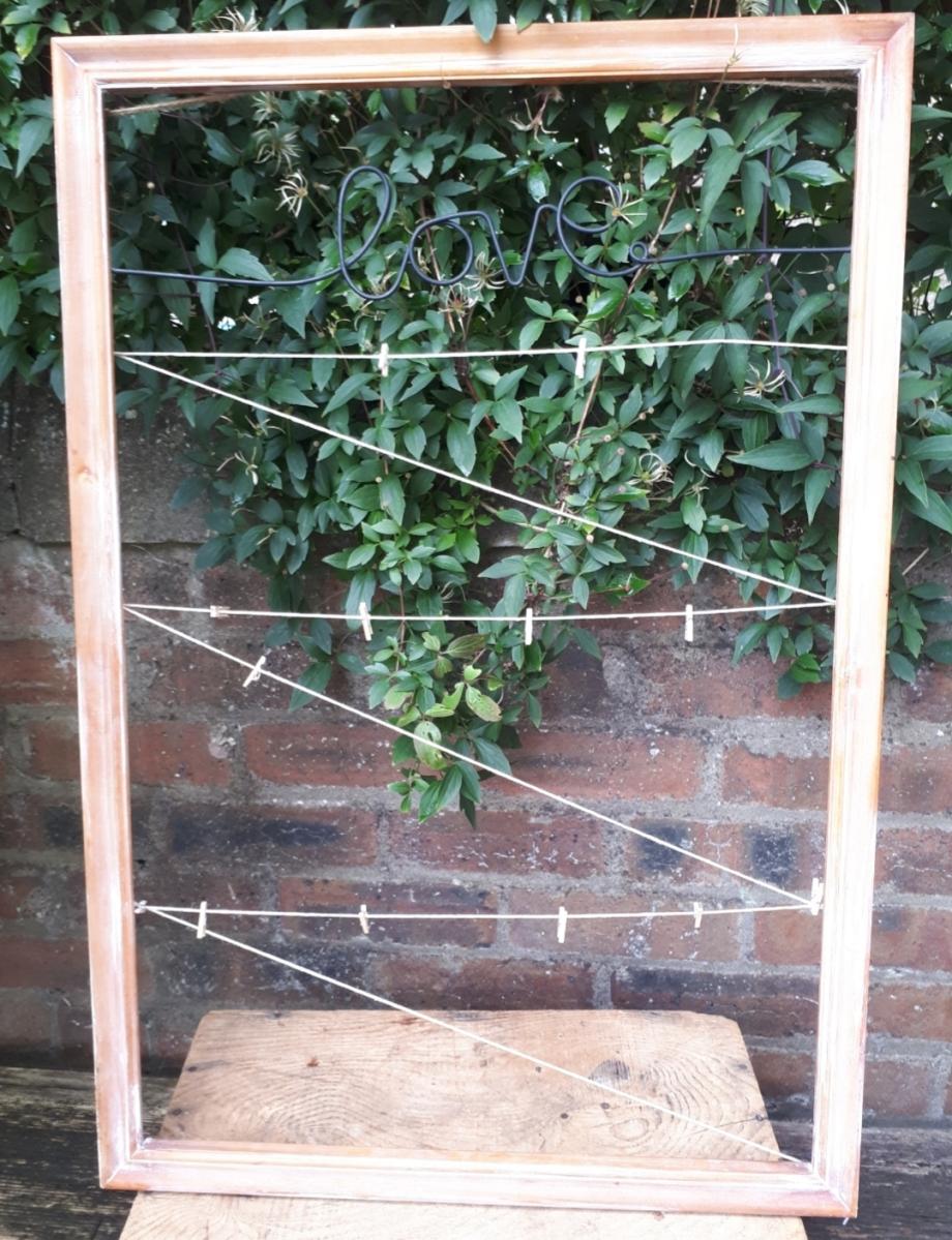 wedding prop frame hire fife tayside scotland