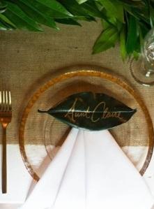 Wedding table decor idea scotland