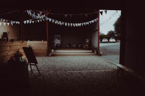 Dalduff barn wedding prop hire