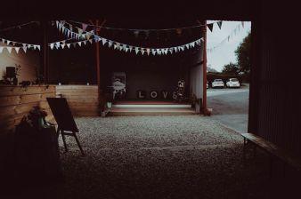 Dalduff barn wedding prop hire