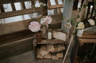 perthshire scotland barn wedding decor