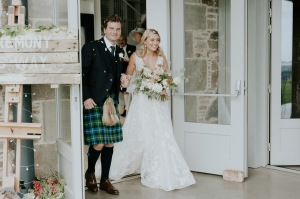 perthshire barn wedding boho