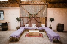 Cowshed_crail_wedding_haybales
