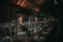 rustic wedding table decor scotland
