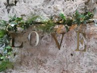 love_foliage_hanging_sign_kinkell_byre_wedding