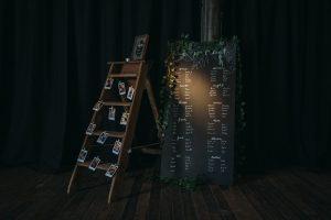 rustic wedding decor props perthshire