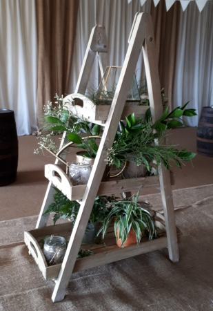 Rustic display stand - Hire Cost £10