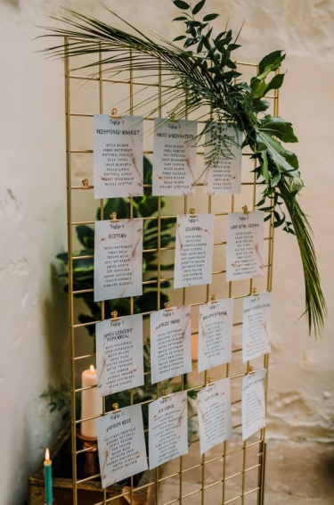 cow-shed-crail-wedding-fife-gold-grid-table-plan