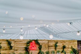 cow-shed-crail-wedding-til-death-neon