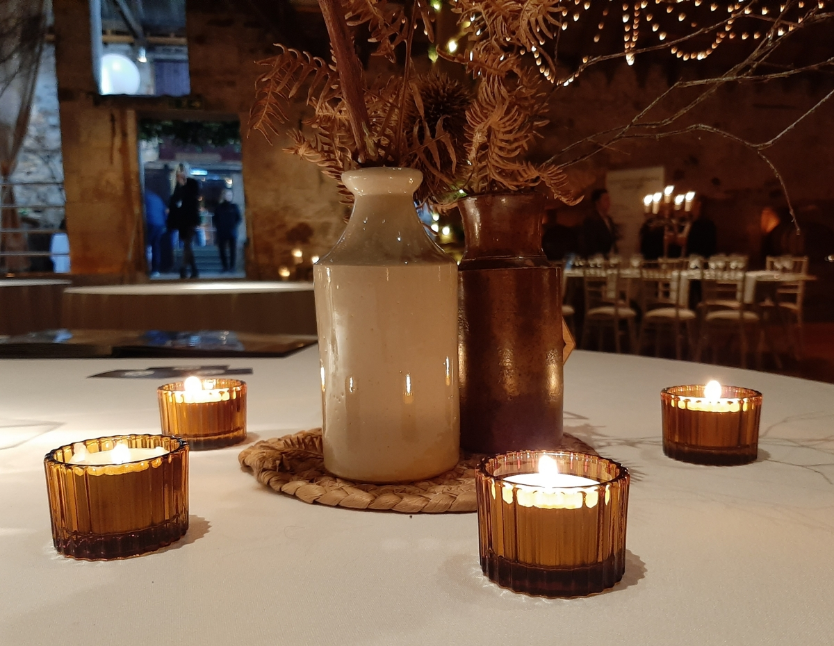 Wedding tealight candle holders fife Scotland