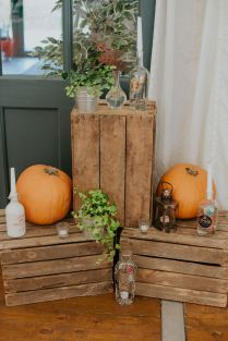 Elsick-House-Wedding-prop-hire-ladder