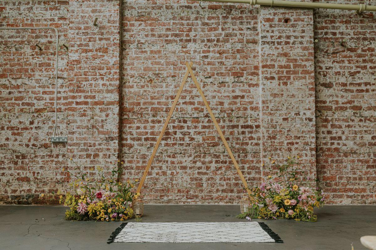 wedding arch hire fife perthshire scotland